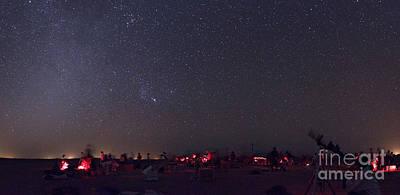 Amateur Astronomy Photograph - Astronomers Gather For Messier Marathon by Babak Tafreshi