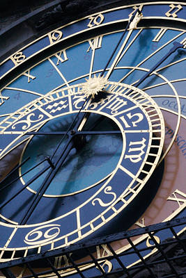 Photograph - Astronomical Clock by Jon Emery
