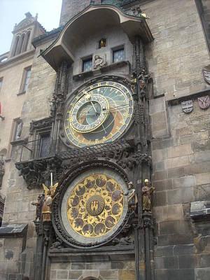 Photograph - Astronomical Clock Prague by Branko Jovanovic