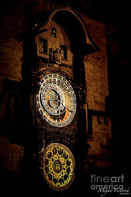 Astronomical Clock Prague Czech Republic Original by Megan Victoria