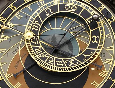 Astronomical Clock Prague Art Print by Eva Csilla Horvath