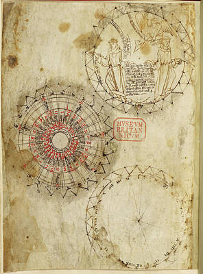 Clergy Photograph - Astronomical Diagrams by British Library