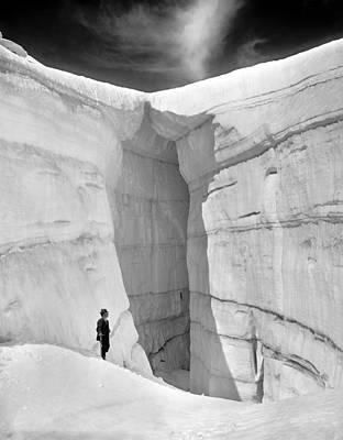 Photograph - Asulkan Glacier Cave by Granger