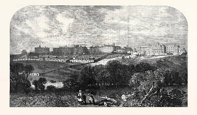 Broadmoor Drawing - Asylum For Criminal Lunatics Broadmoor Sandhurst Berkshire by English School