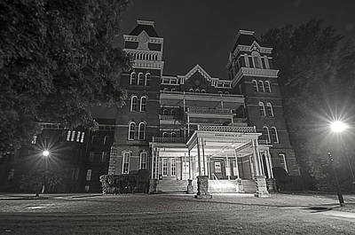 Ou. Ohio University Photograph - Asylum In The Dark by Shirley Tinkham