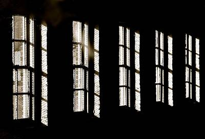 Wire Mesh Photograph - Asylum by Odd Jeppesen