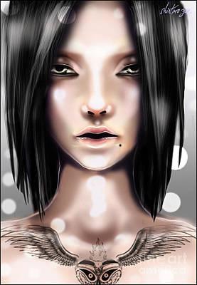 Sculling Digital Art - Asylum Prince by Shintaro  Yen