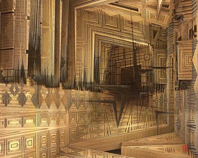 Digital Art - Asymmetric by David Jenkins