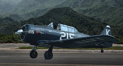 Photograph - At-6 Texan Trainer by Michael Gordon