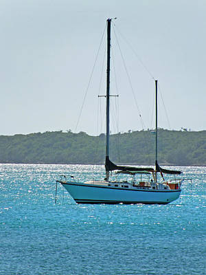 Photograph - At Anchor In Harbour Island Sound by Duane McCullough