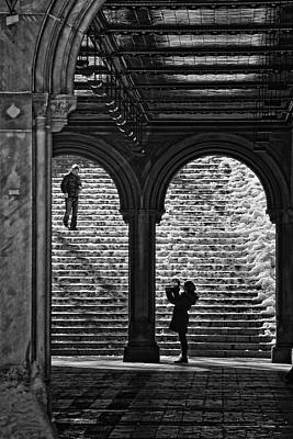 Photograph - At Bethesda Fountain by Steven Mancinelli