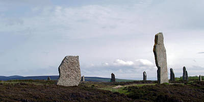 Photograph - At Brodgar by Steve Watson