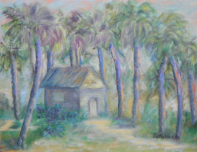 Painting - At Home In Marineland Fl by Patty Weeks