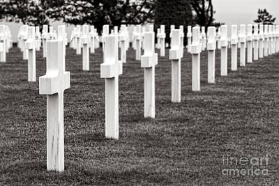 Historic Battle Site Photograph - At Normandy by Olivier Le Queinec