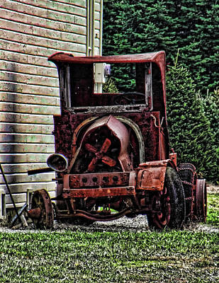 Art Print featuring the photograph At Rest by Ron Roberts