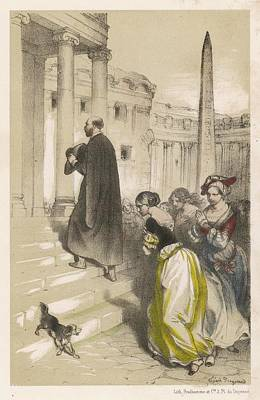 At Rome, The Fervent Eloquence Art Print