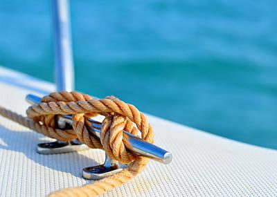 Photograph - At Sea by Laura Fasulo