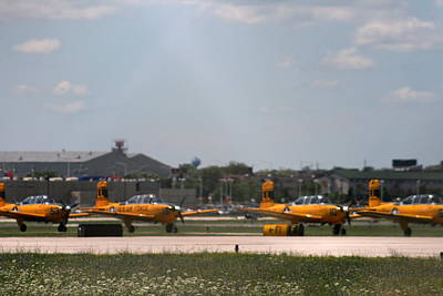 Photograph - At The Air Show by Kay Novy