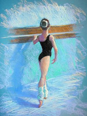Painting - At The Barre by Jackie Simmonds