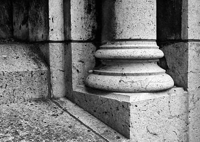 Sacre Coeur Photograph - At The Base - 3 by Nikolyn McDonald