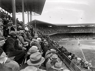 Photograph - At The  Base Ball Game Vintage by R Muirhead Art