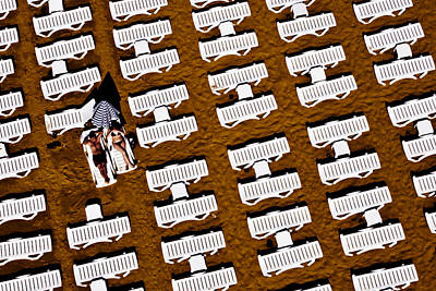 Photograph - At The Beach by Ali Kabas
