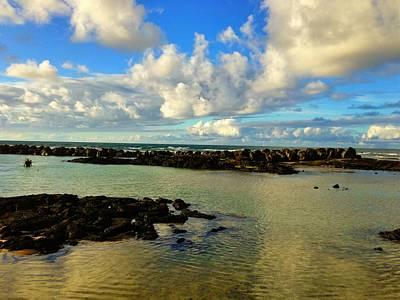 Thomas Kinkade Royalty Free Images - At the Beach Royalty-Free Image by D Preble