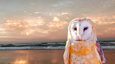 At The Beach Original by Dennis Dugan