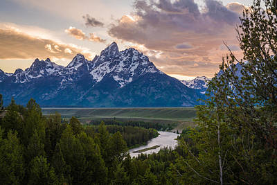 Teton Wall Art - Photograph - At The Bend by Kristopher Schoenleber