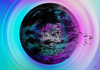 Ice-t Digital Art - At The Breast Of Civilization by Sir Josef - Social Critic -  Maha Art