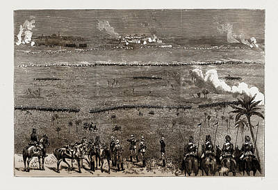 Final Drawing - At The Camp Of Exercise, Delhi, India, 1886 Final Assault by Litz Collection