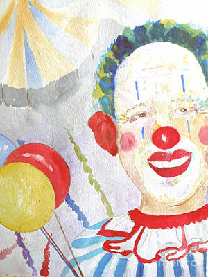 At The Circus Art Print by Sandy McIntire