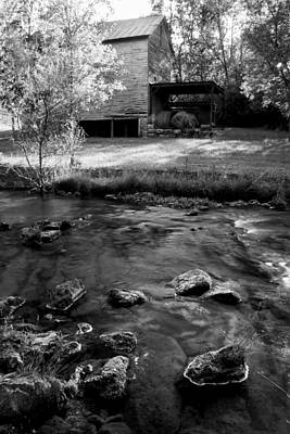Photograph - At The Creek - Hackney Mill by Carol Erikson