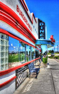 Photograph - At The Diner 1 by Diane Alexander