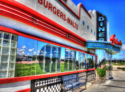Photograph - At The Diner 2 by Diane Alexander
