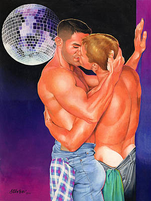 At The Disco Art Print by Steven Stines