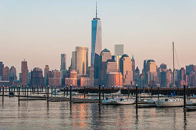 City Scenes Royalty-Free and Rights-Managed Images - At the Docks by Kristopher Schoenleber