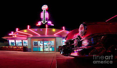 Photograph - At The Drive-in by Mark Miller