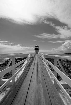 Coastal Maine Photograph - At The End by Becca Brann
