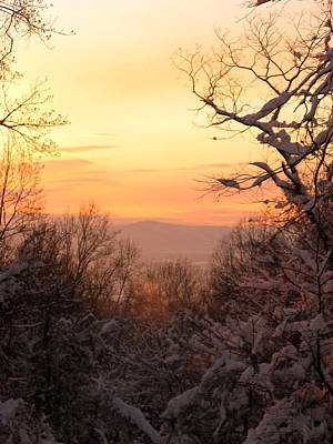 Winter Photograph - At The End Of The Day by Laura Corebello