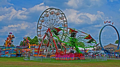 Photograph - At The Fair by Michael Porchik