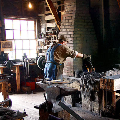 Photograph - At The Forge by Trever Miller