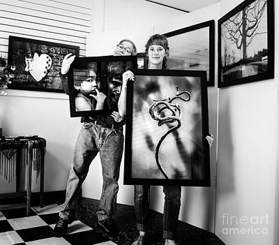 Photograph - At The Gallery by Michael Arend