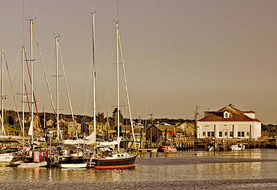 Photograph - At The Harbor - Martha's Vineyard by Kim Hojnacki