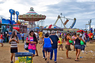 Photograph - At The Maui County Fair by Trever Miller