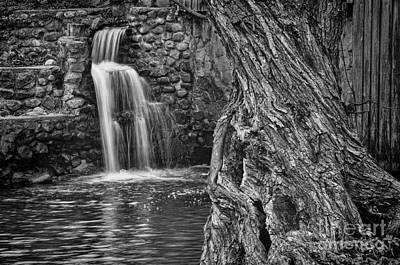 Photograph - At The Mill Black And White by David Arment