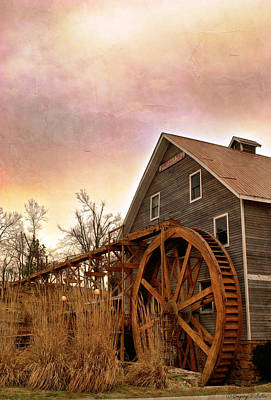 Photograph - At The Mill by Gregory Ballos
