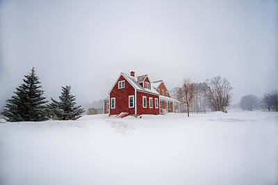 Photograph - At The Old Farmhouse by Robert Clifford