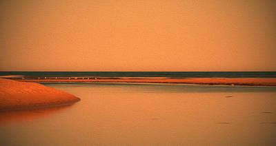 Photograph - At The River by Herbert Seiffert
