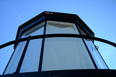 Photograph - At The Top Of The Lighthouse by Brett Geyer